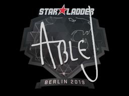 Наклейка | ableJ | Берлин 2019