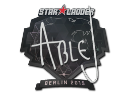 Sticker | ableJ | Berlin 2019