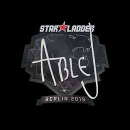 ableJ | Berlin 2019