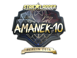 Sticker | AmaNEk (Gold) | Berlin 2019