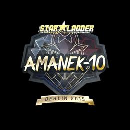 AmaNEk (Gold) | Berlin 2019