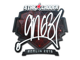 Sticker | ANGE1 (Foil) | Berlin 2019