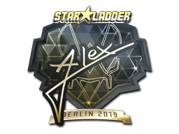 Sticker | ALEX (Gold) | Berlin 2019