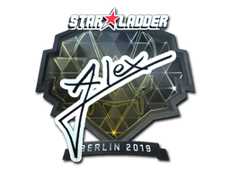 Sticker | ALEX (Foil) | Berlin 2019