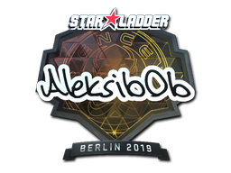 Sticker | Aleksib (Foil) | Berlin 2019