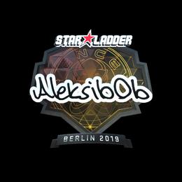 Aleksib (Foil)   Berlin 2019