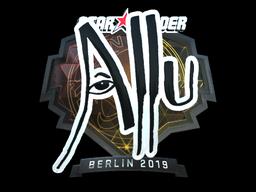 Sticker | allu (Foil) | Berlin 2019