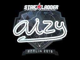 Sticker   aizy (Foil)   Berlin 2019