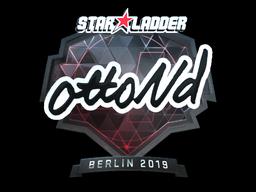 Sticker | ottoNd (Foil) | Berlin 2019