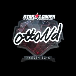 ottoNd (Foil)   Berlin 2019