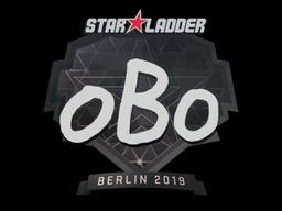 Наклейка | oBo | Берлин 2019