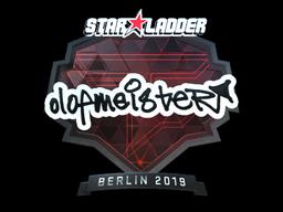 Наклейка | olofmeister (металлическая) | Берлин 2019