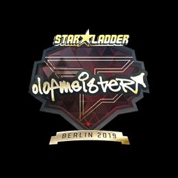 olofmeister (Gold) | Berlin 2019