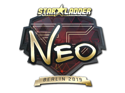 Sticker | NEO (Gold) | Berlin 2019