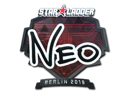 Sticker | NEO (Foil) | Berlin 2019