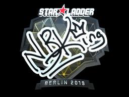Sticker | NBK- (Foil) | Berlin 2019
