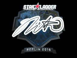 Sticker | nitr0 (Foil) | Berlin 2019