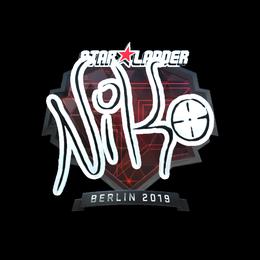 NiKo (Foil) | Berlin 2019