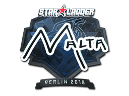 Sticker | malta (Foil) | Berlin 2019