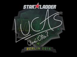 Наклейка | LUCAS1 | Берлин 2019
