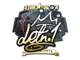 Sticker | LETN1 (Gold) | Berlin 2019