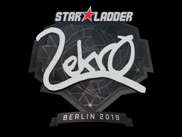 Наклейка | Lekr0 | Берлин 2019