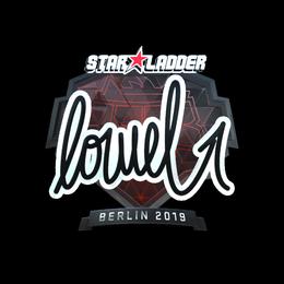loWel (Foil) | Berlin 2019