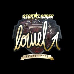 loWel (Gold) | Berlin 2019