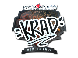 Sticker | Krad (Foil) | Berlin 2019