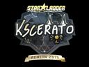 Sticker | KSCERATO (Gold) | Berlin 2019