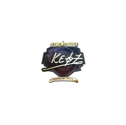 Sticker | Keoz (Gold) | Berlin 2019