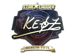 Sticker | Keoz (Gold) | Berlin 2019