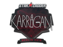 Sticker | karrigan | Berlin 2019