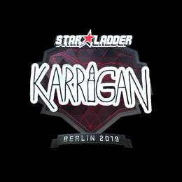 karrigan (Foil)   Berlin 2019