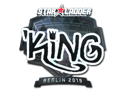 Sticker | kNgV- (Foil) | Berlin 2019