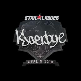 Kjaerbye | Berlin 2019