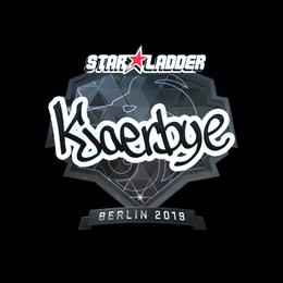 Kjaerbye (Foil)   Berlin 2019