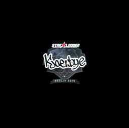 Sticker   Kjaerbye (Foil)   Berlin 2019