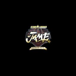Sticker | Jame (Gold) | Berlin 2019