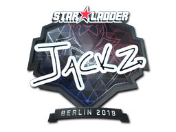 Sticker | JaCkz (Foil) | Berlin 2019