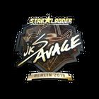 Sticker   jks (Gold)   Berlin 2019