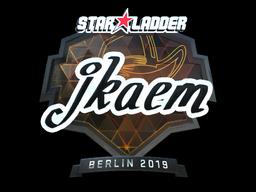 Наклейка | jkaem (металлическая) | Берлин 2019