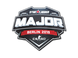 Sticker | StarLadder (Foil) | Berlin 2019
