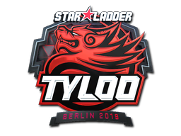Sticker | Tyloo (Foil) | Berlin 2019