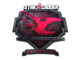 Sticker | mousesports (Foil) | Berlin 2019