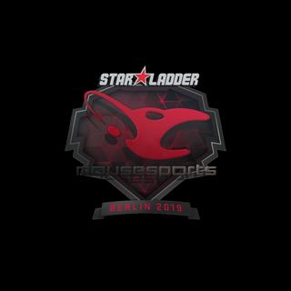 Sticker   mousesports   Berlin 2019