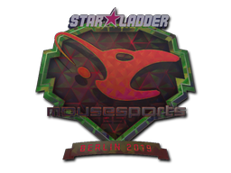Sticker | mousesports (Holo) | Berlin 2019