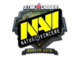Sticker | Natus Vincere (Foil) | Berlin 2019