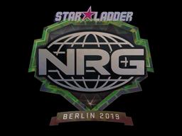 Наклейка | NRG (голографическая) | Берлин 2019