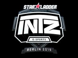Sticker   INTZ E-SPORTS CLUB (Foil)   Berlin 2019